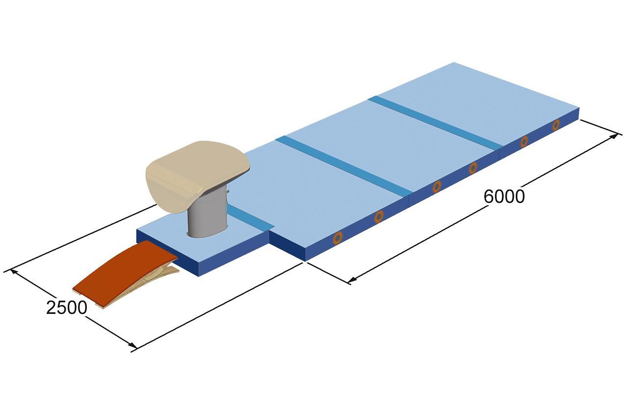 1565801 AASA Mattenset sprong naaldvilt blauw JF_corr